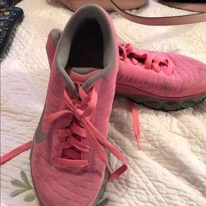 Nike Max Air Pink & Grey 6 1/2